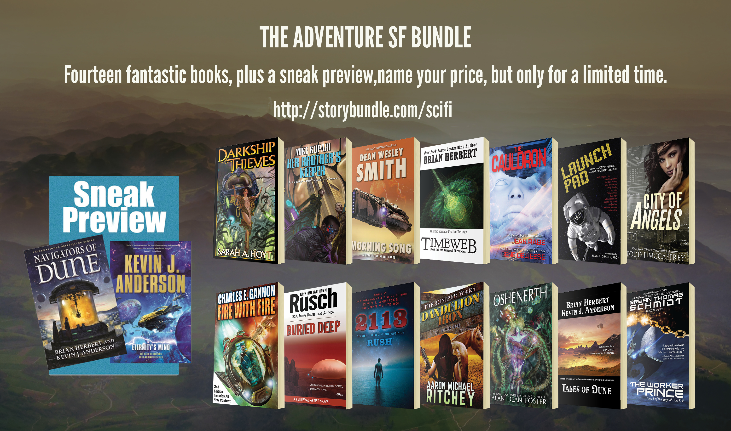 The Adventure SF Bundle!