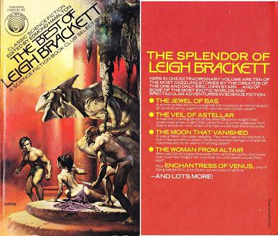 Best of Leigh Brackett (1977) covers