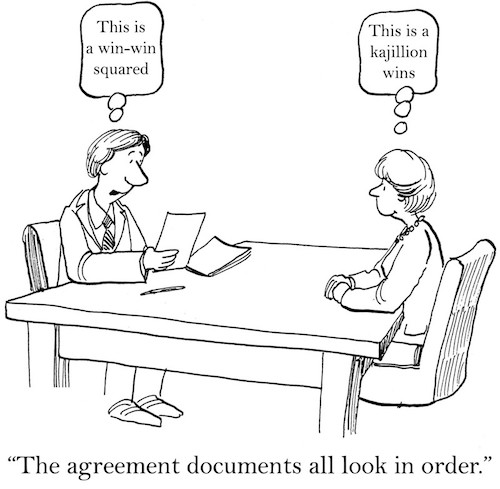 Business Musings: Money 3 Deal Memos (Contract/Negotiation…and…Rethinking The Writing Business Part 12)